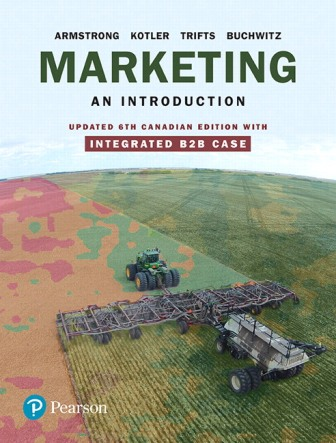 Test Bank for Marketing: An Introduction Updated 6th Canadian Edition Armstrong