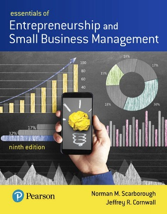 Test Bank for Essentials of Entrepreneurship and Small Business Management 9th Edition Scarborough