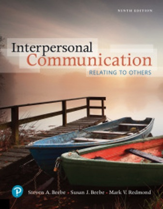 Test Bank for Interpersonal Communication: Relating to Others 9th Edition Beebe