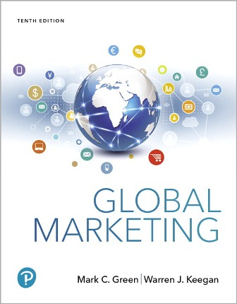 Test Bank for Global Marketing, 10th Edition Green