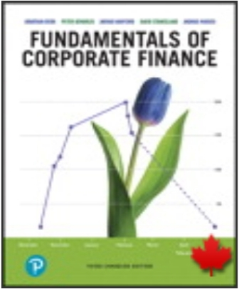 Solution Manual for Fundamentals of Corporate Finance 3rd Canadian Edition Berk