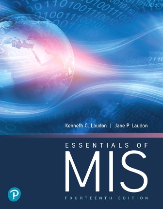 Solution Manual for Essentials of MIS 14th Edition Laudon