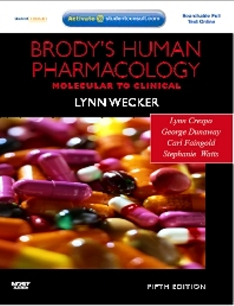 Test Bank for Brody's Human Pharmacology 5th Edition Wecker