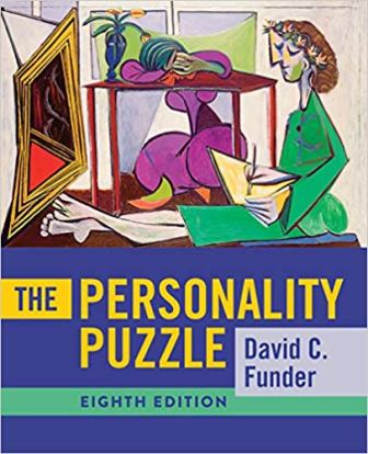 Test Bank for The Personality Puzzle 8th Edition, by Funder