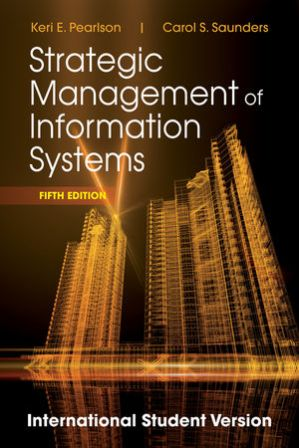 Test Bank for Strategic Management of Information Systems 5th Edition Pearlson