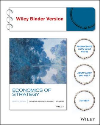 Solution Manual for Economics of Strategy 7th Edition Dranove