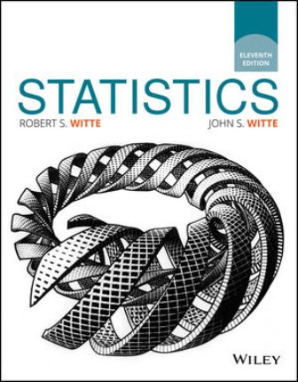 Solution Manual for Statistics 11th Edition Witte