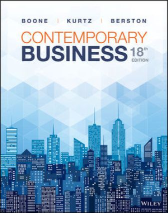 Test Bank for Contemporary Business 18th Edition Boone