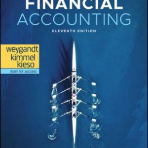 Solution Manual for Financial Accounting 11th Edition Weygandt