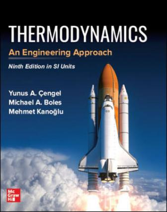 Solution Manual for Thermodynamics: An Engineering Approach, 9th Edition Cengel
