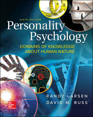 Test Bank for Personality Psychology: Domains of Knowledge About Human Nature, 6th Edition Larsen