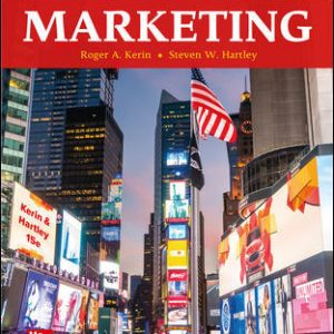 Solution Manual for Marketing, 15th Edition Kerin