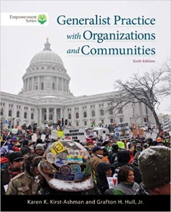 Test Bank for Brooks/Cole Empowerment Series: Generalist Practice with Organizations and Communities, 6th Edition Kirst-Ashman