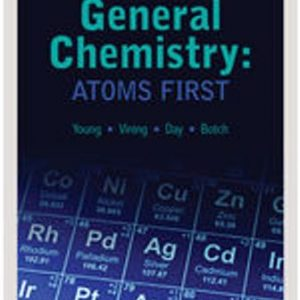 Test Bank for General Chemistry: Atoms First, 1st Edition Young