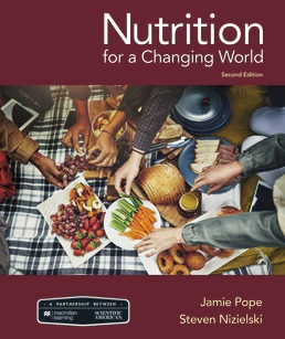 Test Bank for Nutrition For A Changing World, 2nd Edition Pope