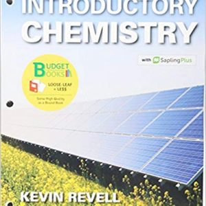 Solution Manual for Introductory Chemistry & SaplingPlus for Introductory Chemistry, Unbnd/Psc Edition Revell