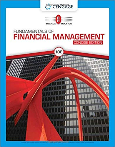 Test Bank for Fundamentals of Financial Management, Concise Edition, 10th Edition Brigham