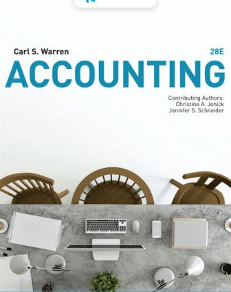 Test Bank for Accounting 28th Edition Warren