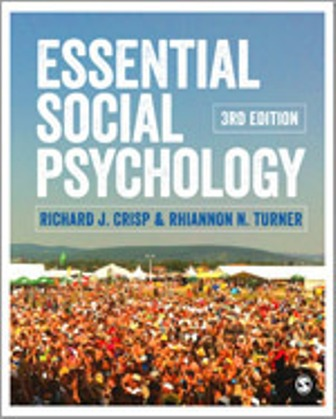 Test Bank for Essential Social Psychology 3rd Edition Crisp