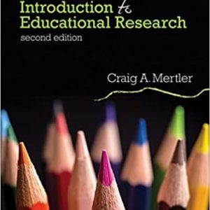 Test Bank for Introduction to Educational Research 2nd Edition Mertler