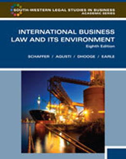 Solution Manual for International Business Law and Its Environment, 8th Edition Schaffer