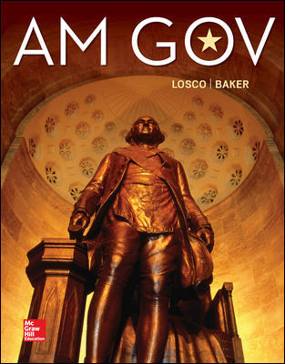Solution Manual for AM GOV 2019-2020 6th Edition By Losco