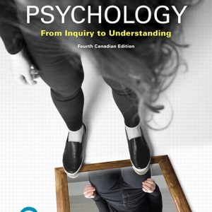 Solution Manual for Psychology: From Inquiry to Understanding, Canadian Edition 4th Edition Lilienfeld