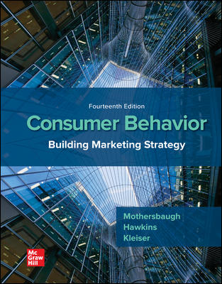 Test Bank for Consumer Behavior: Building Marketing Strategy, 14th Edition Mothersbaugh