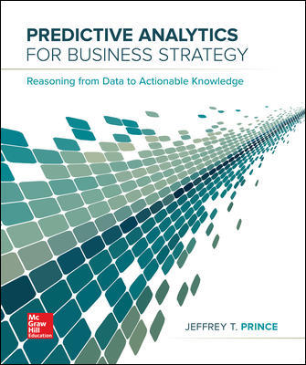 Test Bank for Predictive Analytics for Business Strategy, 1st Edition Prince
