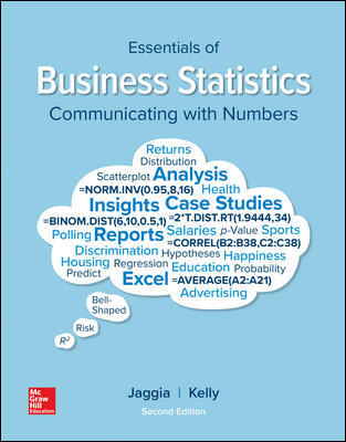 Test Bank for Essentials of Business Statistics, 2nd Edition Jaggia