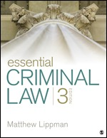 Test Bank for Essential Criminal Law, 3rd Edition Lippman