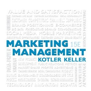 Test Bank for Marketing Management, 15th Edition Kotler