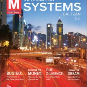 Solution Manual for M: Information Systems, 5th Edition Baltzan