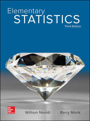 Test Bank for Elementary Statistics 3rd Edition Navidi