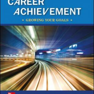 Test Bank for Career Achievement: Growing Your Goals 3rd Edition Blackett