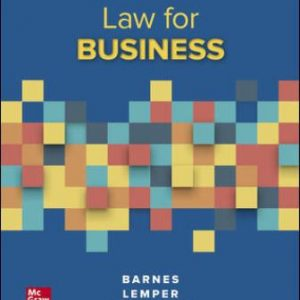 Solution Manual for Law for Business, 14th Edition Barnes