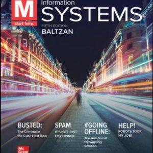 Solution Manual for M: Information Systems, 6th Edition Baltzan