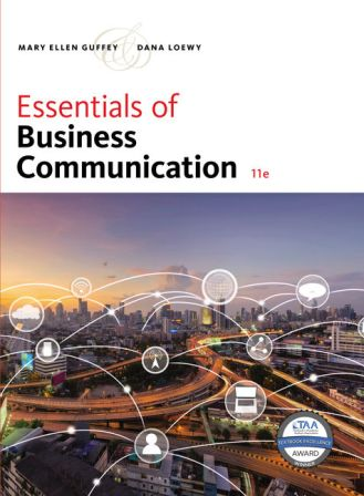 Solution Manual for Essentials of Business Communication 11th Edition Guffey