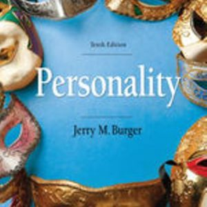 Test Bank for Personality, 10th Edition Burger
