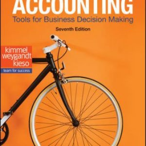 Solution Manual for Accounting: Tools for Business Decision Making, 7th Edition Kimmel