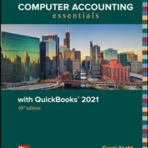 Solution Manual for Computer Accounting Essentials with QuickBooks 2021, 10th Edition Yacht