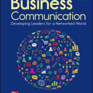 Test Bank for Business Communication: Developing Leaders for a Networked World, 4th Edition  Cardon