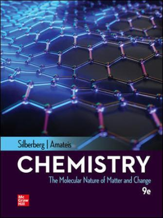 Test Bank for Chemistry: The Molecular Nature of Matter and Change, 9th Edition Silberberg