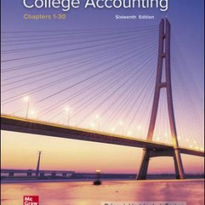 Test Bank for College Accounting Chapters 1-30, 16th Edition Price