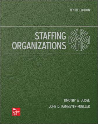 Solution Manual for Staffing Organizations, 10th Edition Judge