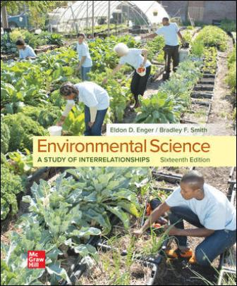 Solution Manual for Environmental Science, 16th Edition Enger