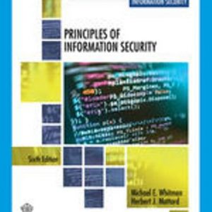 Solution Manual for Principles of Information Security, 6th Edition Whitman