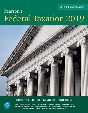 Solution Manual for Pearson's Federal Taxation 2019 Comprehensive, 32nd Edition Pope