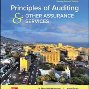 Test Bank for Principles of Auditing & Other Assurance Services, 22nd Edition Whittington