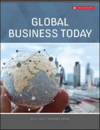 Test Bank for Global Business Today, 6th Edition, Hill